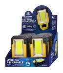 La ferre de l'avinguda - linterna recargable alta luminosidad y powerbank - llanterna recargable alta lluminositat i powerbank